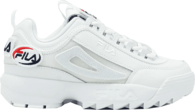 Fila Disruptor Ii Patches White 5FM00538-100