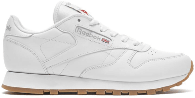 Reebok Classic Leather Schoenen Intense White / Gum 49803