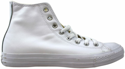 Converse Chuck Taylor All Star Leather Hi White  1T406