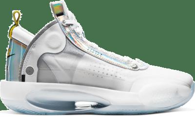 Jordan XXXIV White Metallic Silver (GS) BQ3384-101