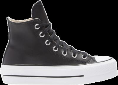 Converse Chuck Taylor All Star Platform High Leather Black 561675C