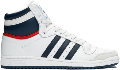 adidas Originals Top Ten Hi White D65161
