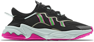 "Adidas Ozweego W ""Core Black/Shock Lime"" EE5714"