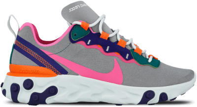 "Nike Wmns React Element 55 ""Wolf Grey"" BQ2728-006"