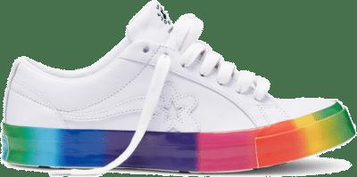 "Converse x Golf Le Fleur OX ""Rainbow"" 166409C"