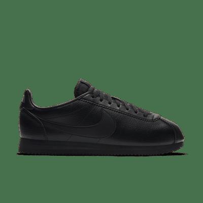 Nike Classic Cortez Leather Triple Black 749571-002