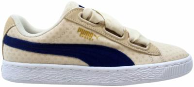 Puma Basket Heart Denim Brown 363371 03