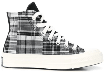 Converse Chuck Taylor All-Star 70s Hi Twisted Prep Black 166850C