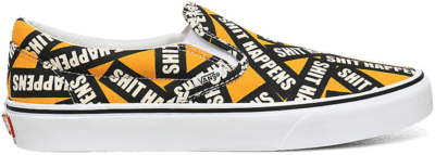"Vans UA Classic Slip-On ""Shit Happens"" VN0A4U38WTX"