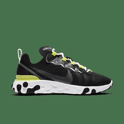 Nike Wmns React Element 55 SE Lemon Venom  CN3591-001