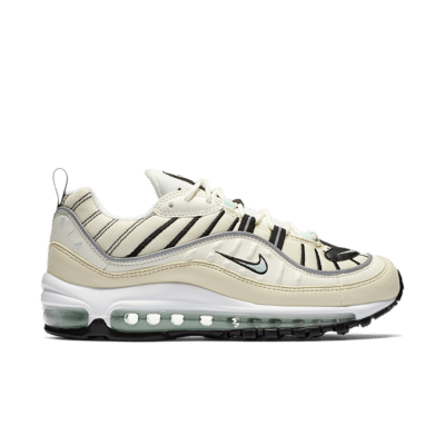 Nike Women's Air Max 98 'Sail & Igloo' Sail/Fossil/Reflect Silver/Igloo AH6799-105