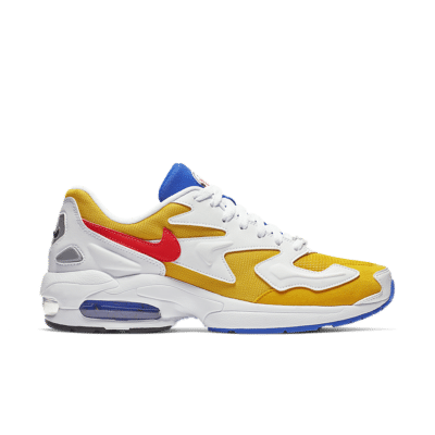 Nike Air Max2 Light 'University Gold & Racer Blue & Flash Crimson' University Gold/Racer Blue/Black/Flash Crimson AO1741-700