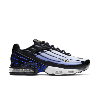 Nike Air Max Plus 3 'Blue Speed' Black/Hyper Blue/White/Chamois CJ9684-001