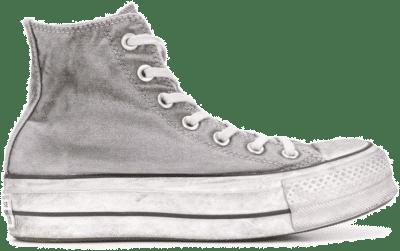 Converse Chuck Taylor All Star Lift Smoked Canvas High Top Grey 563113C