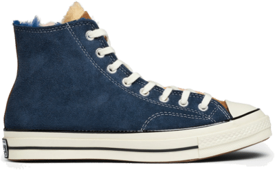 "Converse x Shearling Chuck 70 HI ""Navy Blue"" 166319C"