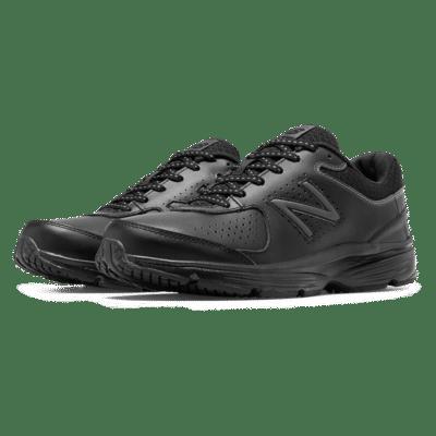New Balance Leather 411v2  Black WW411BK2