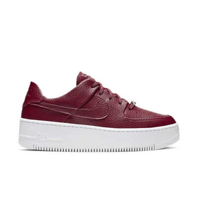 Nike Wmns Air Force 1 Sage Low Team Red  AR5339-602