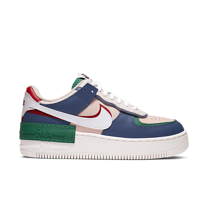 """Nike Wmns Air Force 1 Shadow """"Multicolor"""" CI0919-400"""