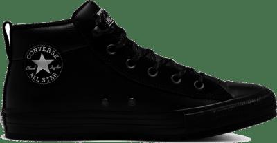 Converse All Star Street Leather Mid Black 166071C
