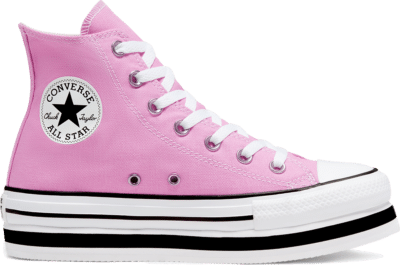Converse Everyday Platform Chuck Taylor All Star High Top voor dames Peony Pink/White/Black 567995C