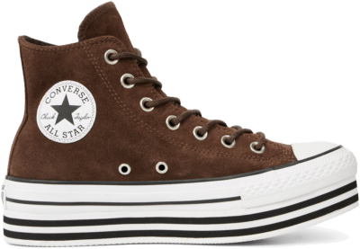 Converse Chuck Taylor All Star Platform Suede High Top Black 565831C