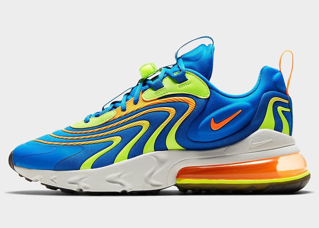Coming soon: Nike Air Max 270 React ENG Blue Volt