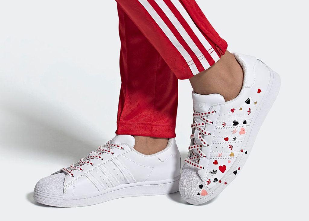 Speciaal voor Valentijn: de adidas Superstar Valentine's Day