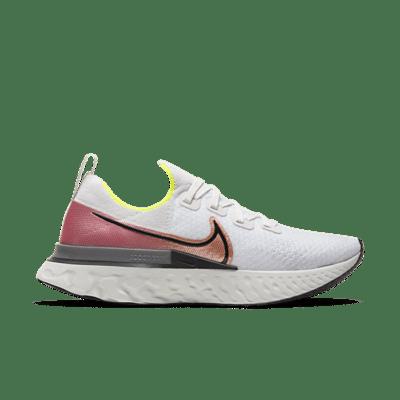 Nike React Infinity Run Platinum Tint Pink Blast CD4371-004