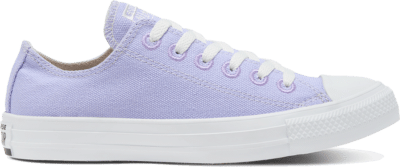 Converse Unisex Renew Cotton Chuck Taylor All Star Low Top Moonstone Violet/Natural/White 166744C