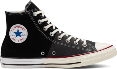 Converse Unisex Reconstructed Chuck Taylor All Star High Top Black/ White 167966C