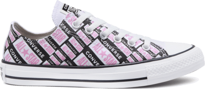 Converse Unisex Logo Play Chuck Taylor All Star Low Top White/ Black 167142C