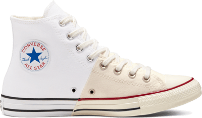 Converse Unisex Reconstructed Chuck Taylor All Star High Top White 167963C