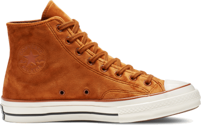 Converse Chuck 70 Velvet High Top Brown 165171C