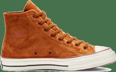 Converse Chuck 70 Velvet High Top Brown 165171C