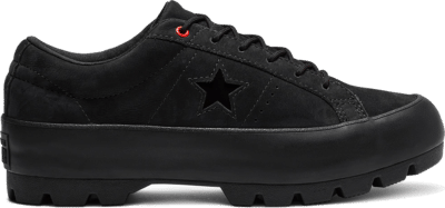 Converse One Star Lugged Low Top Black 565064C