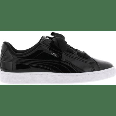 Puma Basket Heart Patent Black 364817-01