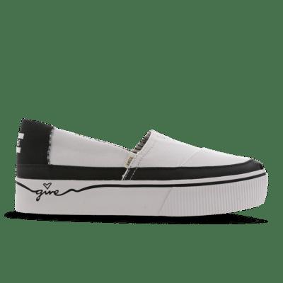 Toms Alpargata Boardwalk White 10014436