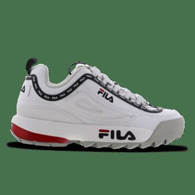 Fila Disruptor Logo White 1010748-1FG
