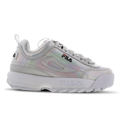 Fila Disruptor M Low Women Silver 1010747-3VW