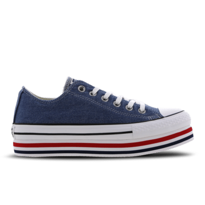 Converse Chuck Taylor All Star Platform Layer Blue 563973C
