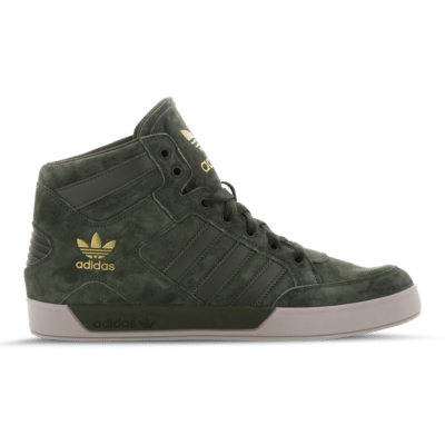 adidas Originals Hardcourt Hi Winterized Green F36699