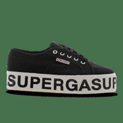 Superga 2790 Cotw Outsole Lettering Black S00FJ80-999