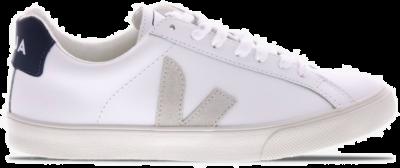 """Veja Esplar Logo Leather """"White"""" EOW021956"""