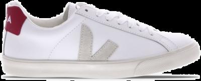 "Veja Esplar Logo Leather ""White/red"" EOW021987"