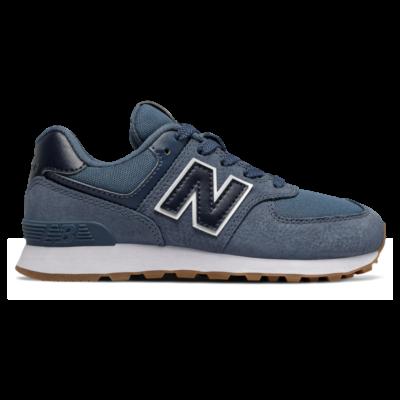 New Balance 574 Premium  Stone Blue/Natural Indigo PC574PRN