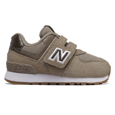 New Balance Hook and Loop 574 Premium  Wren/Mushroom IV574PRB