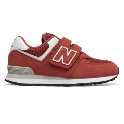 New Balance Hook and Loop 574  Raw Clay/White YV574EC