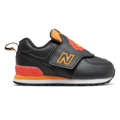 New Balance Hook and Loop 574  Black/Yellow IV574ZOL