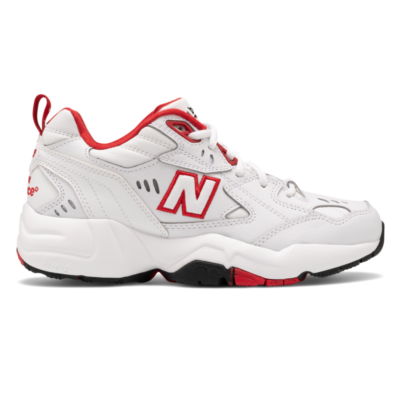 New Balance 608  White/Team Red WX608TR1