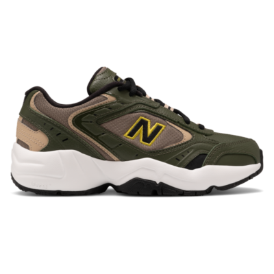 New Balance 452  Dark Covert Green/Incense/Black WX452SO
